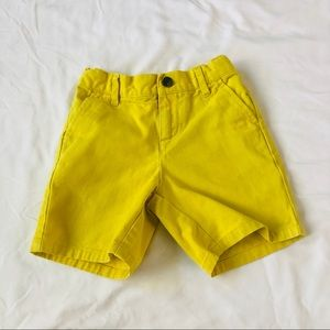 Janie and Jack Yellow Jean Shorts 18-24 Mon